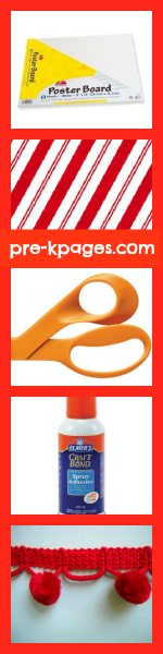 How to Make a Bulletin Board Awning Step by Step Tutorial via www.pre-kpages.com