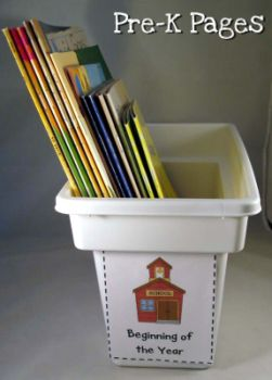 ice cube book storage box