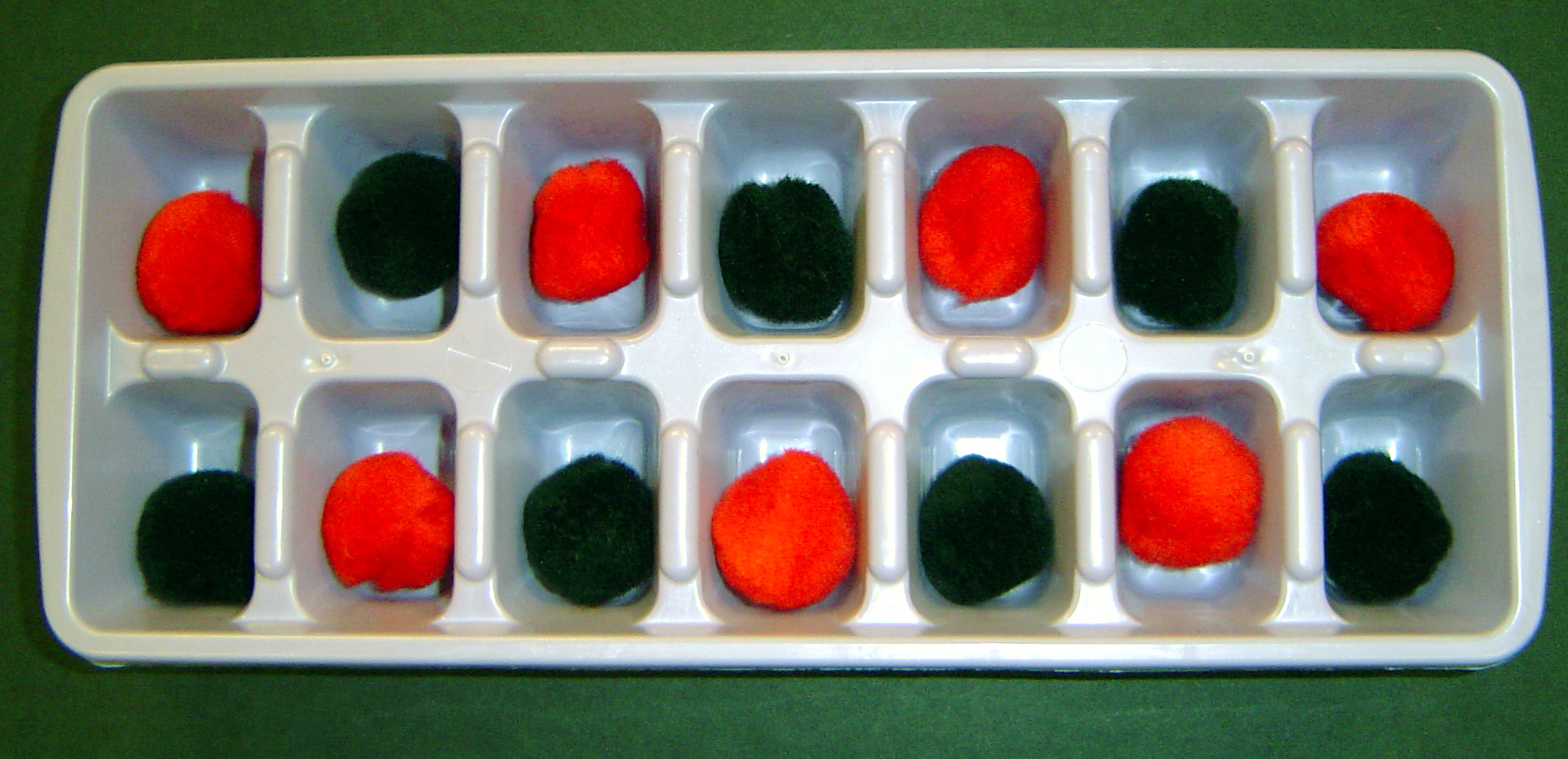 Ice Cube Tray Pattern