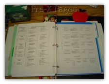 inside lesson plan book