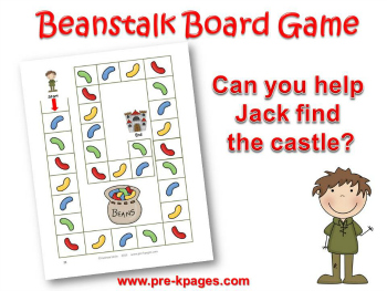 photograph relating to Jack and the Beanstalk Story Printable named Jack and the Beanstalk Preschool Routines
