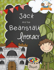 Printable Jack and the Beanstalk Literacy Activities