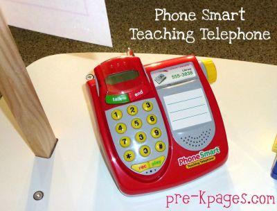 Dramatic Play Teaching Telephone Printable