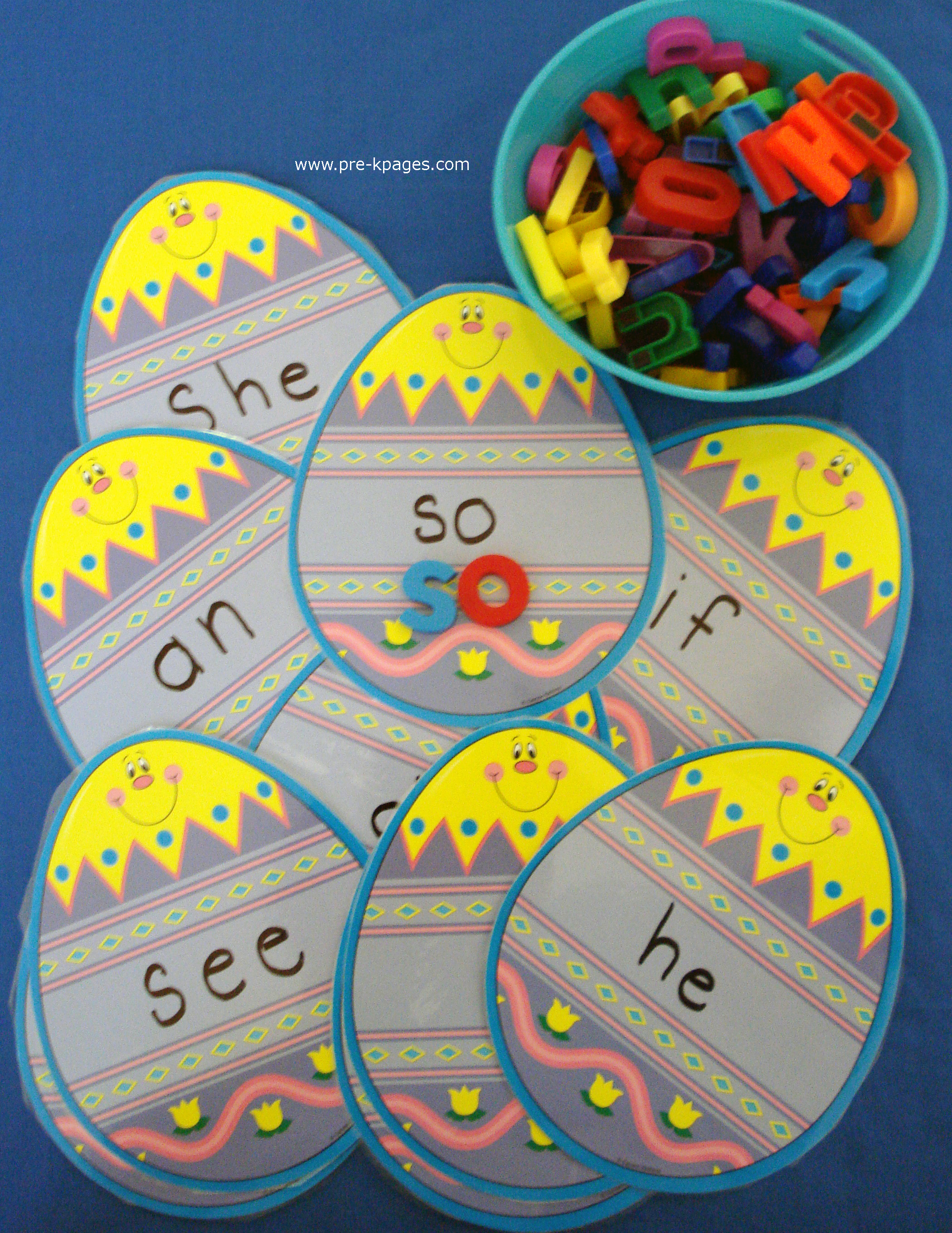 egg sight words