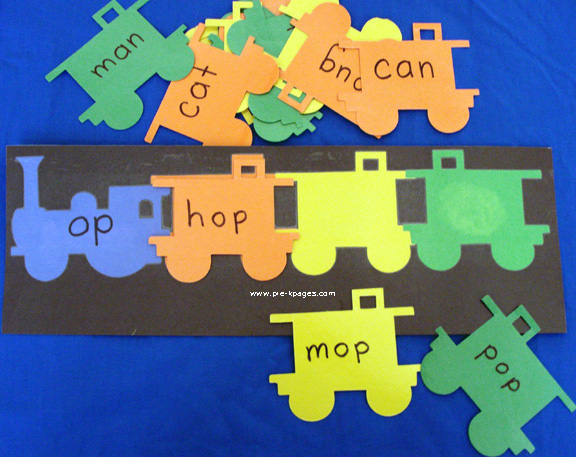 transportation word families