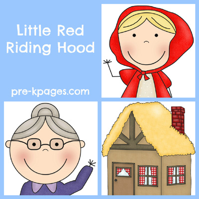 Little Red Riding Hood Activities for Preschool and Kindergarten via www.pre-kpages.com