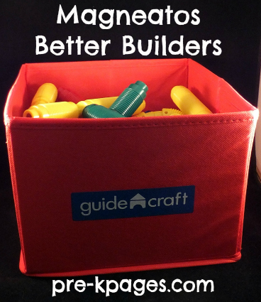 Magneatos Better Builders Support STEM in the preschool and kindergarten classroom via www.pre-kpages.com