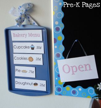 magnetic bakery menu