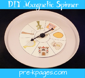 easy diy magnetic spinner
