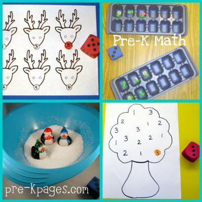 Pre-K Math Center Management