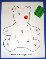 Bear roll count