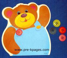 Bear Buttons