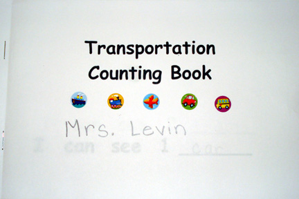 transportation counting book one