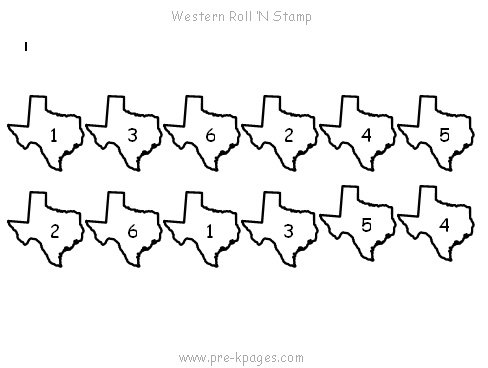 texas roll stamp