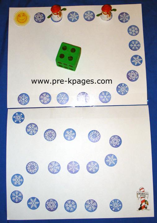 frosty board game