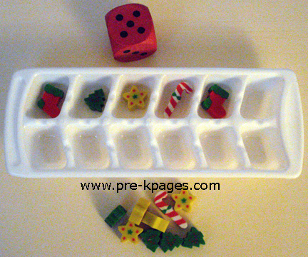 holiday ice cube