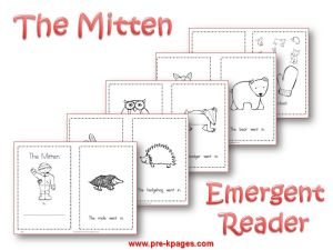 photograph regarding The Mitten Printable Book identified as Wintertime Topic Pursuits for Preschool
