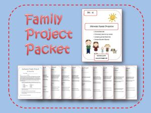 monthly family involvement projects