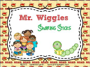 Mr. Wiggles activity to support SSR in #preschool and #kindergarten