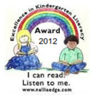 Nellie Edge Excellence in Early Literacy Award 2012