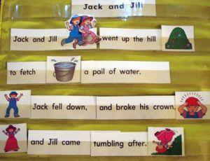 Nursery Rhyme Pocket Chart