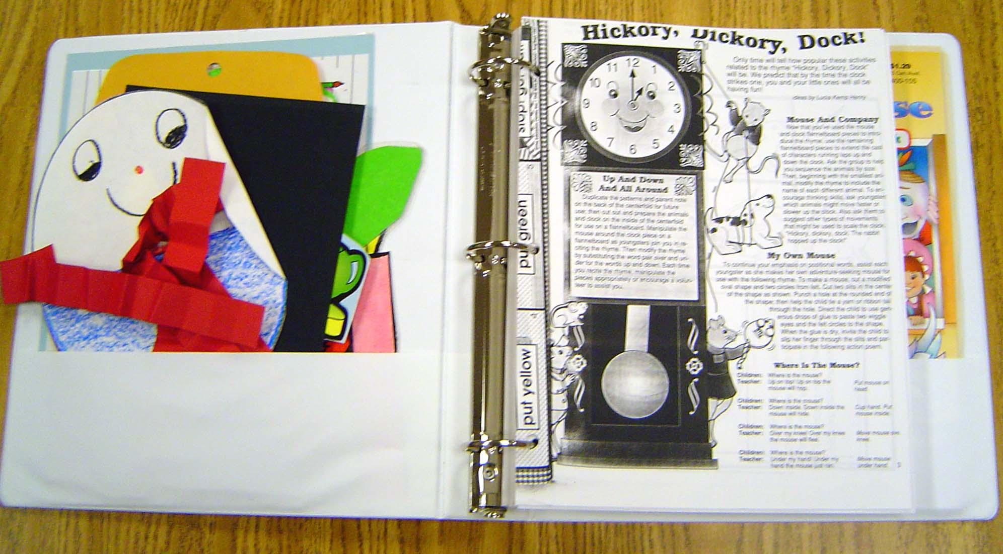 inside binder