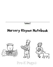 nursery rhyme notebook cover