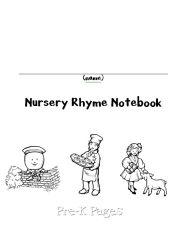 nursery rhyme notebook cover