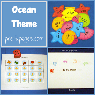 Ocean-theme-collage