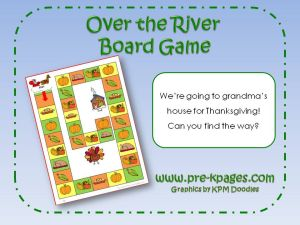 over the river board game
