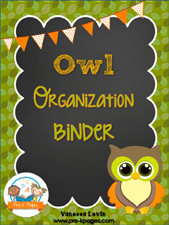 OWL Binder: Printable Parent Communication Notebook for #preschool and #kindergarten