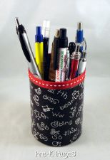 cute pen and pencil cups