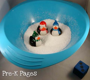 penguin counting game