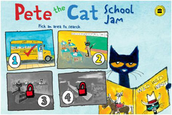 Kindergarten Stars: Pete the Cat Tour on the 1st Day Of School