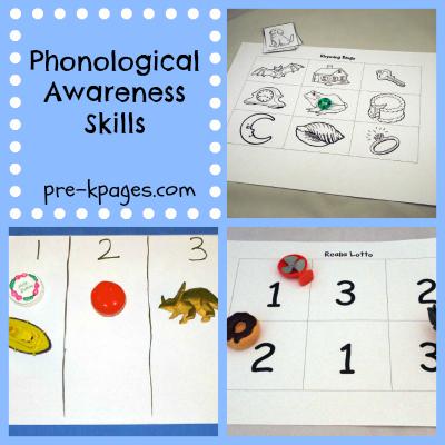 phonological awareness ideas - Phonological Awareness Activities For Kindergarten