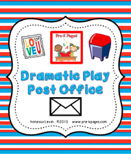 dramatic play post office kit