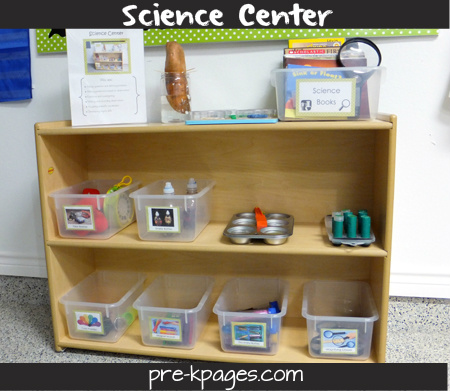 pre-k science center