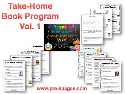 take home book program in preschool