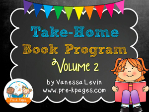 Take Home Book Program for #preschool and #kindergarten