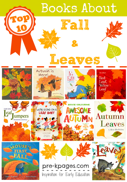 best books about fall and leaves for preschool and kindergarten - Preschool Books About Colors