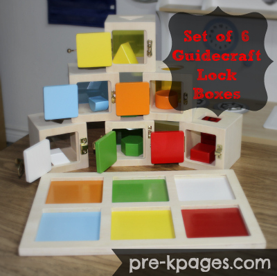 Lock Boxes for Preschool Fine Motor Play via www.pre-kpages.com