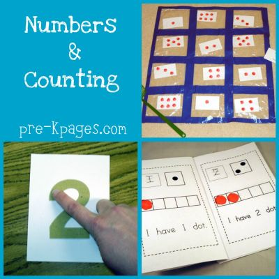 teaching numbers and counting in preschool