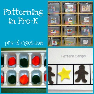 teaching pattern skills in preschool