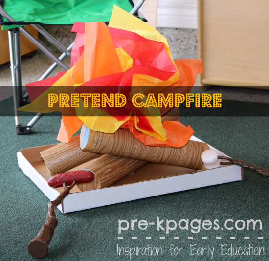 Preschool Crafts For Camping