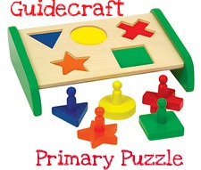 Guidecraft primary puzzle
