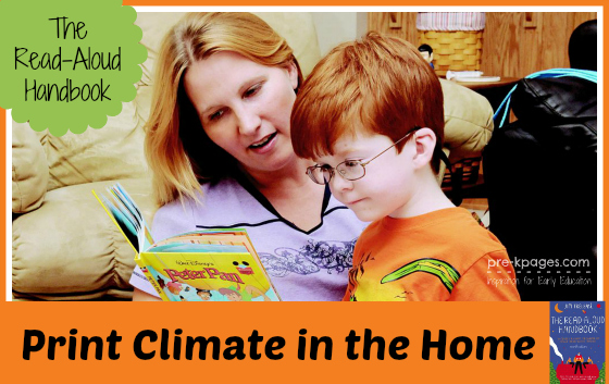 The Read-Aloud Handbook Chapter 6: Print Climate #readaloud #literacy #parents #teachers