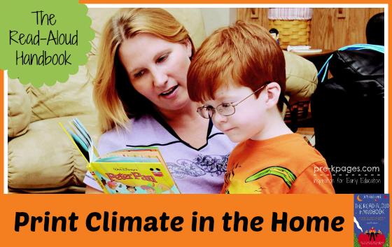 The Read-Aloud Handbook Chapter 6: Print Climate #readaloud #literacy #parents #teachers