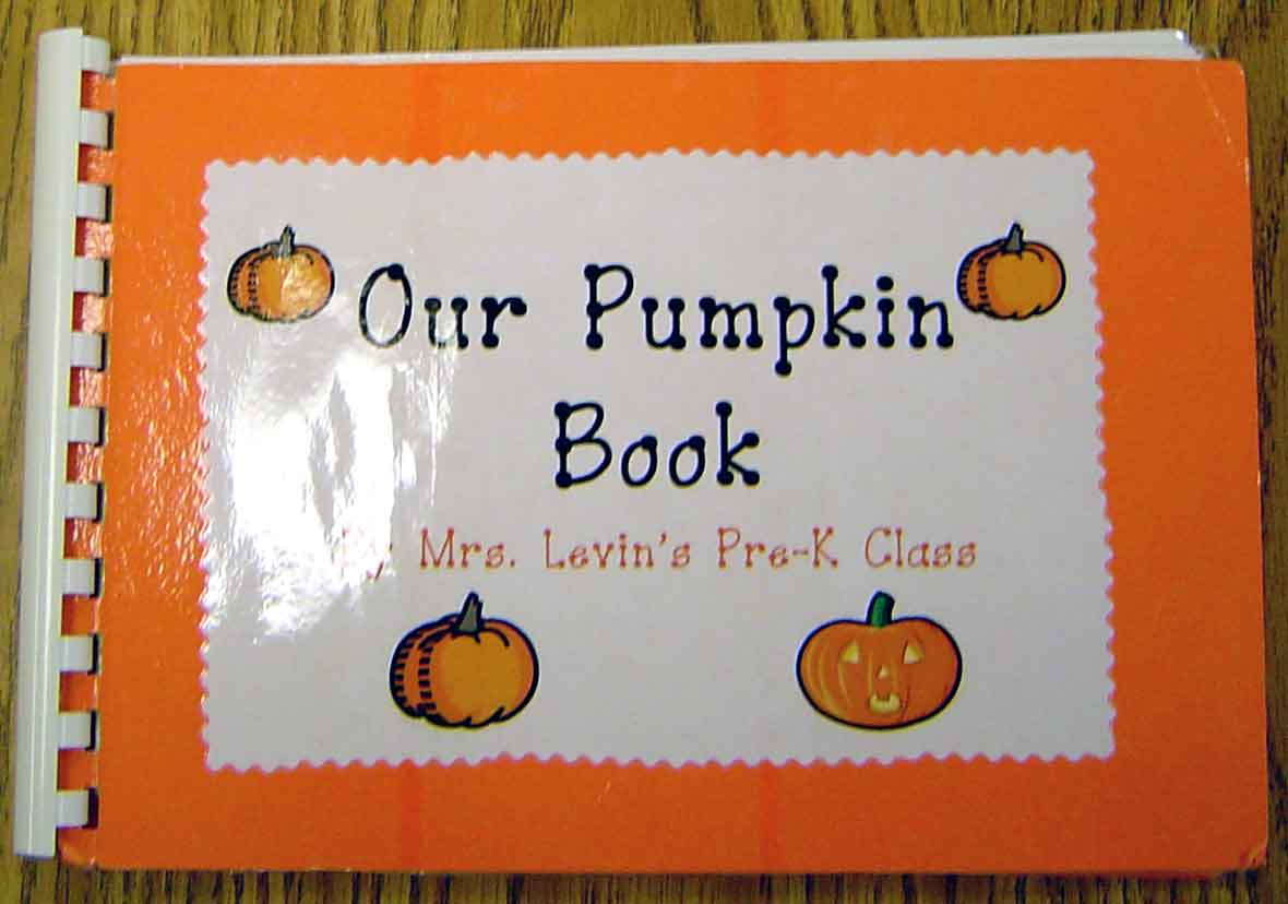 Pumpkin book front