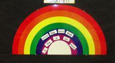 rainbow words
