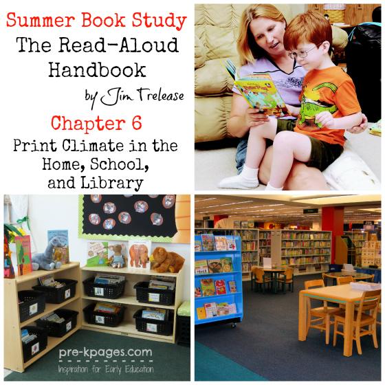 The Read-Aloud Handbook Book Study: Chapter 6 #readaloud #literacy #teachers #parents